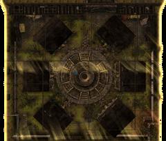Higgs Village Geck render
