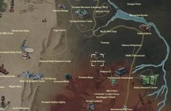 Camp Venture map