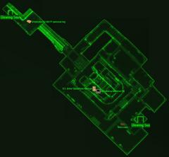 Federal surveillance center K-21B map