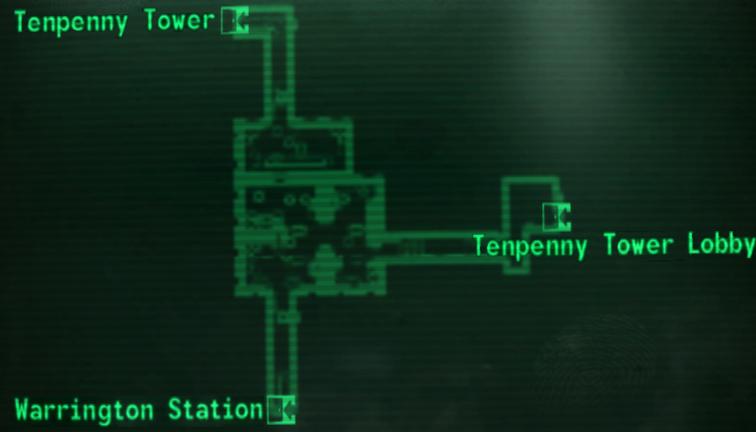 Maps. u201c & Metro access u0026 generator   Fallout Wiki   FANDOM powered by Wikia