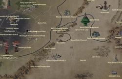 Monongah Power Substation MZ-03 map