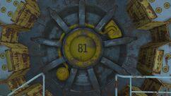 Refugio 81 puerta