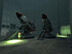 Repconn rocket facility