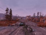 Abandoned bog town