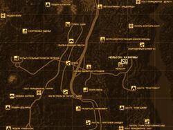 FNV Карта НЕЛЬСОН - КАЗАРМЫ