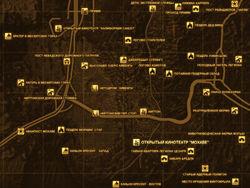 FNV Карта ОТКРЫТЫЙ КИНОТЕАТР МОХАВЕ