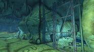 FNV Bloodborne Cave gate