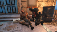 FO4 Knight Rhys and Scribe Haylen