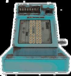 Fo4 cash register blue
