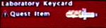 FoBoS laboratory keycard