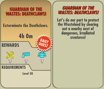 FoS Guardian of the Wastes Deathclaws! card