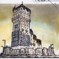 Concept art for Tenpenny Tower