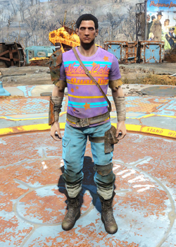 Armored Nuka-Cola Quantum outfit male