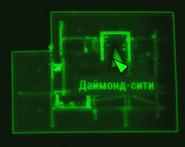 FO4 Дом Мо Кронина карта