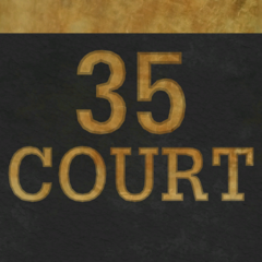 35 Court sign
