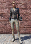 FO76 Greaser Jacket and Jeans