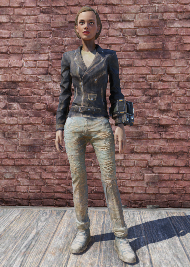 Greaser Jacket And Jeans Fallout 76 Fallout Wiki Fandom