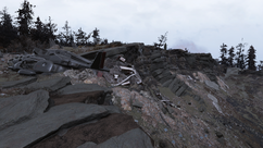 FO76 Vertibird crash site 01