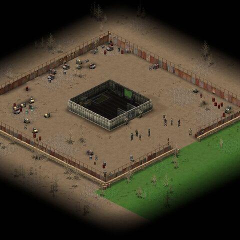 Інтер'єр бункера