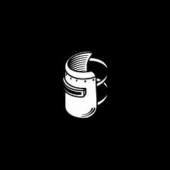 Іконка маски зварювальника і щитка зварника