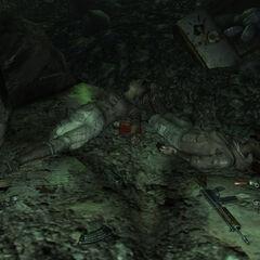 Мертві мешканці Пусток в печері