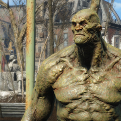 Strong, a potential super mutant companion