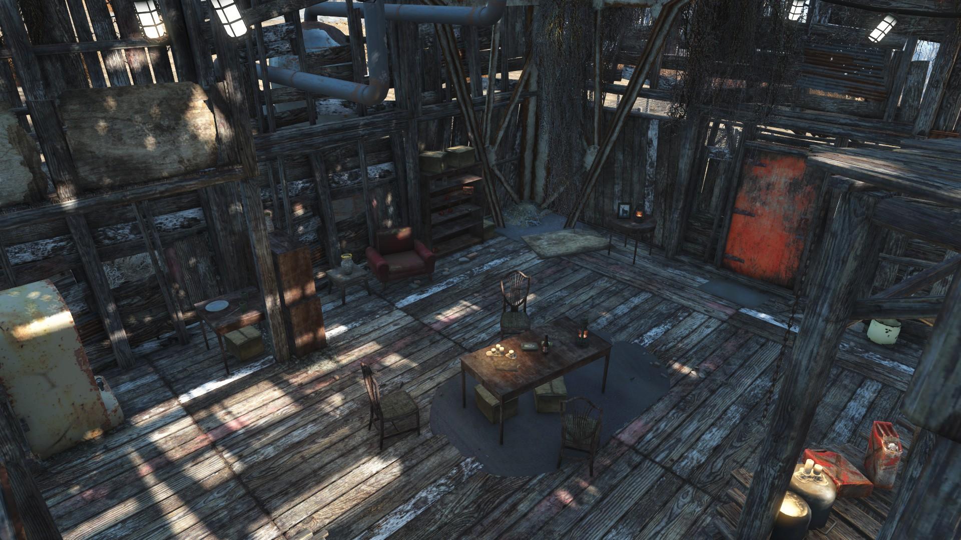 Abernathy farm interior