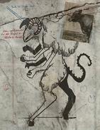 F76 Van Lowe Sheepsquatch Sketch 2