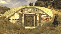 FNV Hidden Valley bunker Entrance
