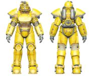 FO4CC T-51 power armor yellow