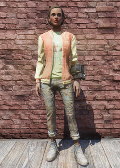 FO76 Cappy jacket and jeans