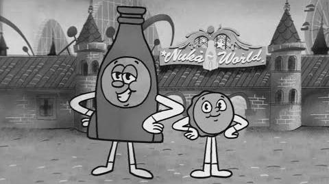 Fallout 4 Nuka-World-Song mit Bottle & Cappy