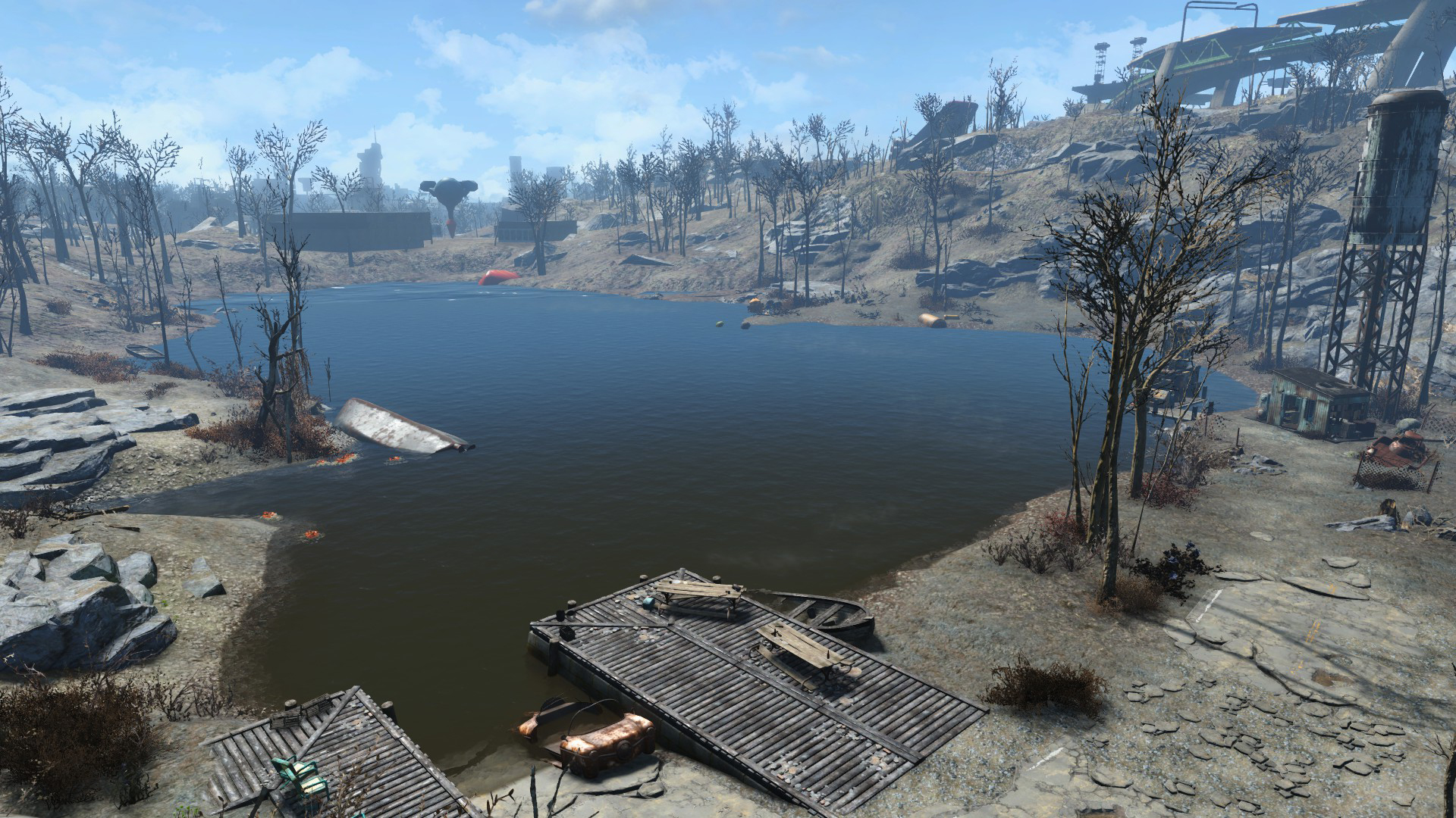 Lake Quannapowitt | Fallout Wiki | FANDOM powered by Wikia