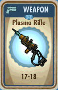 FoS Plasma Rifle Card
