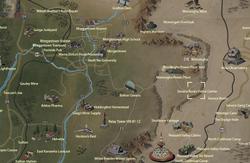 Seneca Rocks Visitor Center map