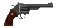.44 magnum revolver with heavy frame