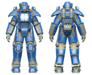 FO4CC T-45 power armor racing stripes