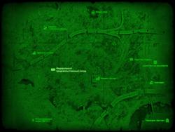 FO4 Федеральный продовольственный склад (карта мира)