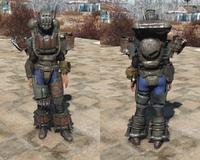 FO4 AUT Robot armor heavy