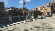 FO4 Cambridge Police station exterior 3