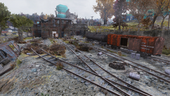 FO76 Charleston trainyard