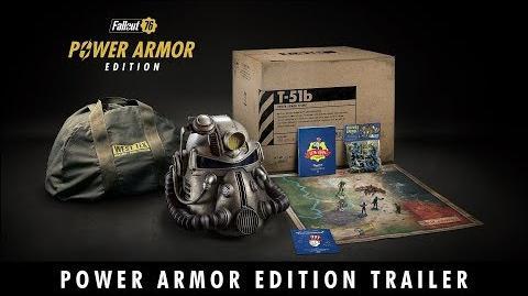 Fallout 76 – E3 2018 Power Armor Edition Trailer