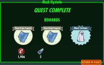FoS Mask Hysteria rewards
