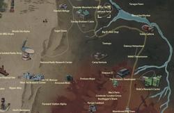 Harper's Ferry map