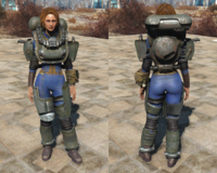 FO4 AUT Robot armor light
