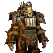 FO76 Atomic Shop - Bone raider power armor