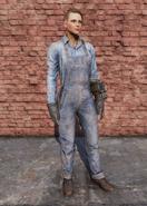 FO76 Clean Steel Worker Uniform Female