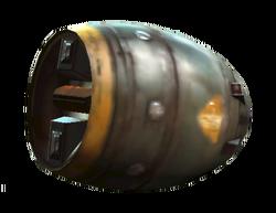 Mininuke detonator shell
