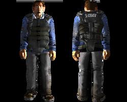 Powder Gang guard armor