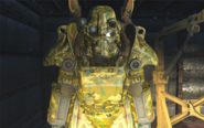 Swamp camouflage paint T-45d power armor
